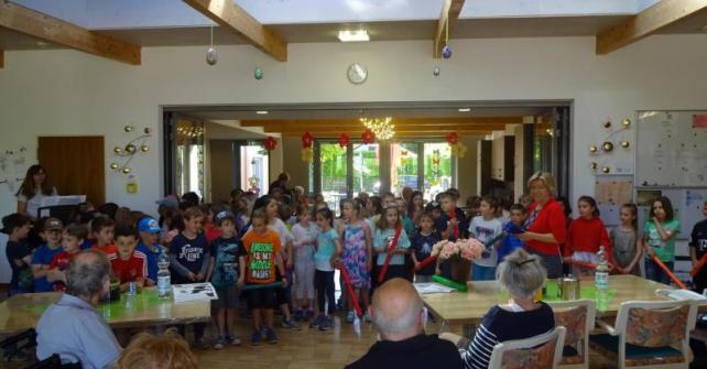 Besuch unserer 1. und 2. Klassen der Grundschule Altfraunhofen